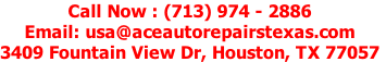Call Now : (713) 974-2886